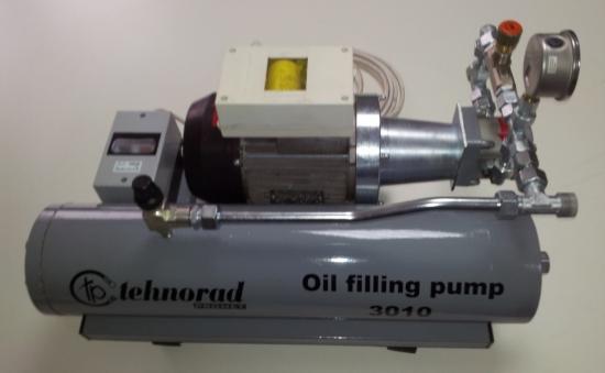 Pump for transfusion oil 3010