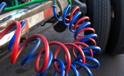 Hydraulic Hoses on Commercial Trailer 0637